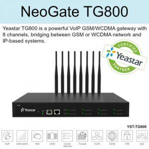 Yeastar Neogate TG800 GSM Gateway installation